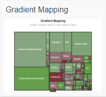 echart gradient mapping